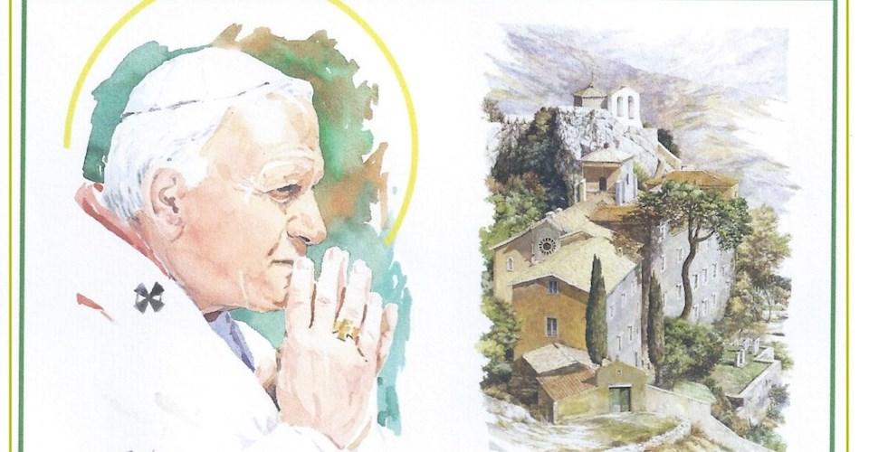 <a href='dettagli.aspx?c=13&sc=3&id=68&tbl=eventi'><div class='slide_title'><h3>100 anni della nascita di Papa Wojtyla</h3></div><div class='slide_text'><span>Anche questa Comunità vuole celebrare la ricorrenza dei cento anni della nascita di Papa Giovanni Paolo II avvenuta il 18 maggio 1920, ricordando la visita che fece al Santuario della Mentorella sul M ...</span></div></a>