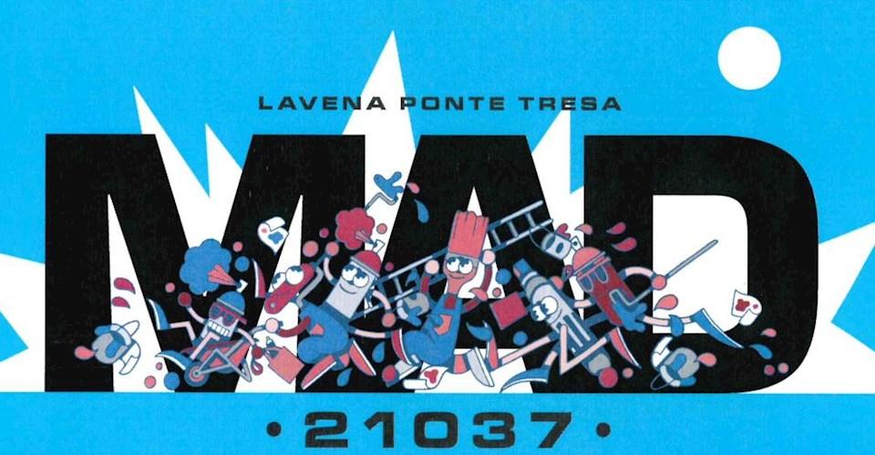 <a href='dettagli.aspx?c=67&sc=32&id=607&tbl=news'><div class='slide_title'><h3>MAD 21037</h3></div><div class='slide_text'><span>Il Comune di Lavena Ponte Tresa - Assessorato alle Politiche Giovanili, in collaborazione con l'associazione WG Art di Varese , ha ideato e promosso il Progetto MAD 21037, che prenderà il via il 30 ge ...</span></div></a>